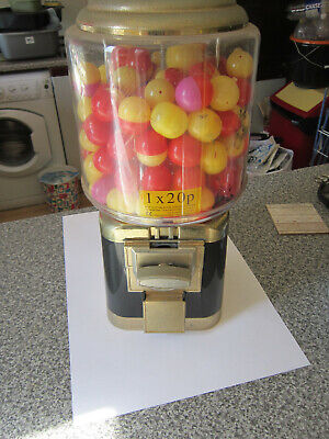 20p Coin Operated Gumball Vending Machine • 4.20£