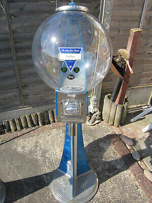 20p Coin Operated Meridian Beaver Sweet Vending Machine With Lock And Key`s • 175£