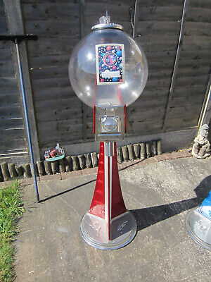 20p Coin Operated Meridian Bouncy Beaver Ball Vending Machine With Lock And Key • 175£