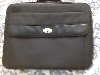 Antler 17  Laptop/Brief Case,with Document Sleeves And File Holder Compartments. • 12£
