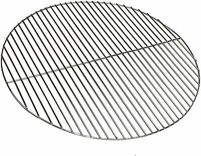 HEAVY DUTY REPLACEMENT ROUND BBQ COOKING GRILL 54.5CM Fits WEBER KETTLE • 21.99£