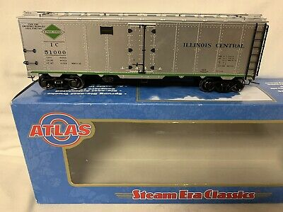 $ CDN131.81 • Buy ✅atlas O 2-rail Illinois Central 40' Steel Side Reefer Car! O Scale Train Ic