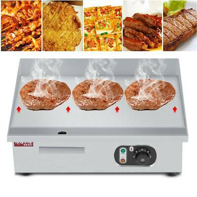 Countertop Electric Griddle Flat Hot Plate Commercial Catering BBQ Grill 3KW • 68.99£