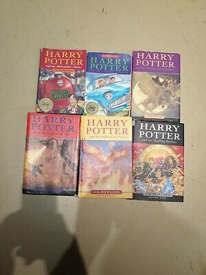 AU1.75 • Buy Harry Potter Books Incomplete Series 1-5 & 7 Books Are In Good Enough Condition