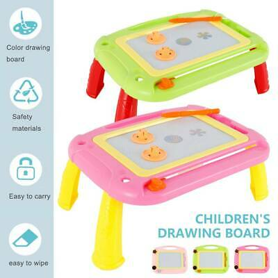 Children Magnetic Drawing Board Easel Double Sided Folding Kid Doodle Sketchpad  • 11.09£