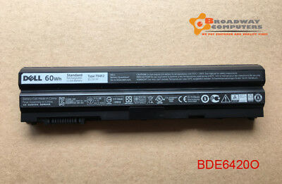AU60 • Buy 60Wh Original Battery Dell Latitude E5420 E5520 E6420 E6520 T54F3, T54FJ, X57F1