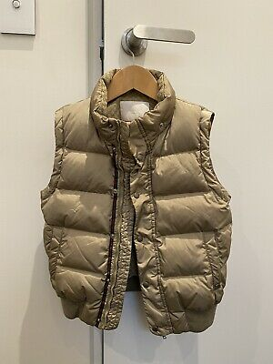 AU122.50 • Buy Gucci - Authentic Feather Down Transformer Jacket - Gold - 6yo - Excellent