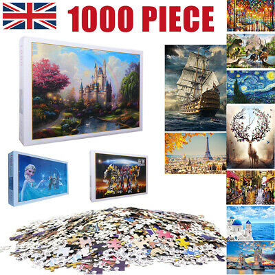1000 Pieces Children Adult Kids Puzzles Educational Toy Decoration Jigsaw Puzzle • 6.99£