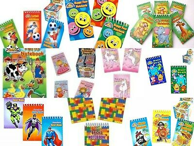 £2.69 • Buy  Mini Spiral Notebooks - Childrens Party Loot Bag Filler - Assorted Designs