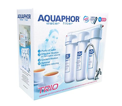 £45.48 • Buy AQUAPHOR Trio Norma H Water Filter System With Separate Tap For Pure Water