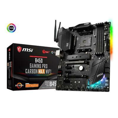 AU272 • Buy MSI B450 GAMING PRO CARBON MAX WIFI ATX Gaming Motherboard AMD AM4 DDR4 M.2