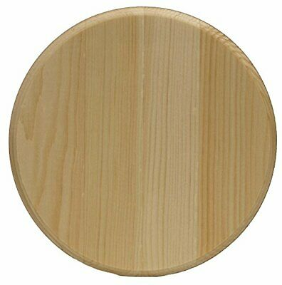 $9.76 • Buy 8  Round Unfinished Natural Pine Plaque Base Board Circle Pine Plaque Wood Burni