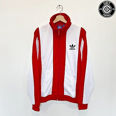 1969 BECKENBAUER Adidas Originals Vintage Retro Football Jacket Track Top (L) • 53.99£