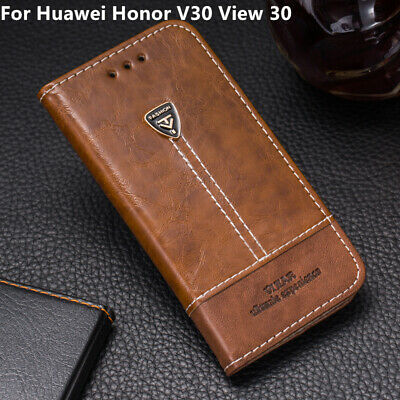 AU5.38 • Buy Back Cover For Huawei Honor V30 View 30 Magnetic Flip Leather Wallet Stand Case