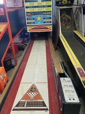 $2500 • Buy Vintage Big Ball Bowler Bowling Arcade Game Chicago Coin Starfire