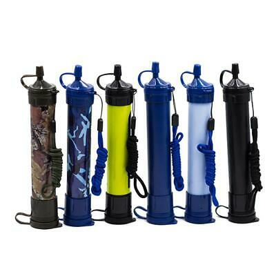 $26.98 • Buy Portable Purifier Straw Water Filter Personal Survival Kit Emergency Gear Super