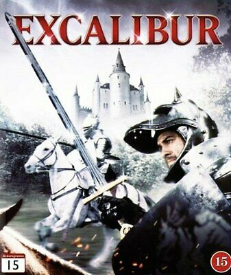 EXCALIBUR (Nigel Terry, Helen Mirren)  Blu Ray NEW Region B Eu UK RARE Gift Idea • 11.99£