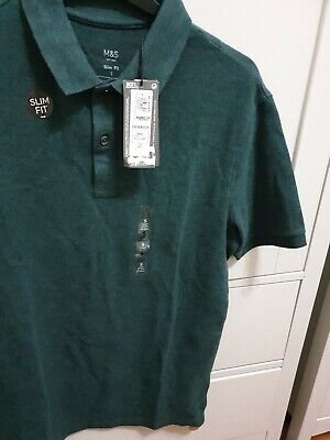 Mens Marks And Spencer Slim Fit Polo Shirt  • 6£