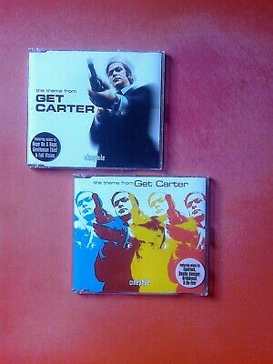 ROY BUDD The Theme From Get Carter Remixes 2 X CD Single Set! Cinephile • 9.50£