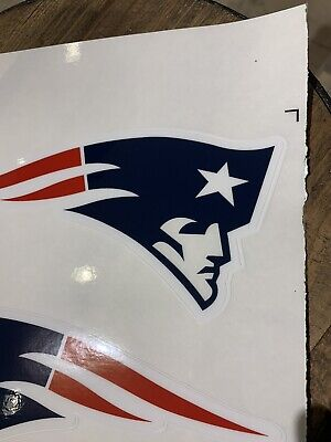 $18.99 • Buy Patriots Clear Face Full Size Helmet Decals