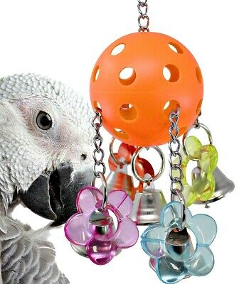 Bellpull Bird Toy Parrot Toys Cages African Grey  Conure Macaw Cockatiel Pet • 14.99£