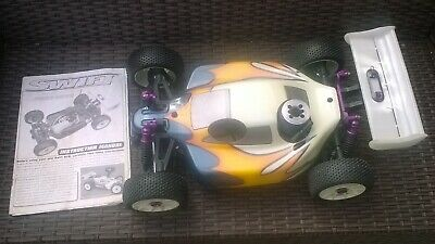 Vintage 1/8th Scale Swift Rc Buggy • 160£