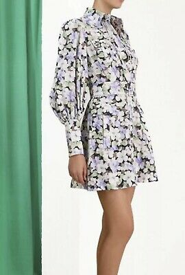 AU400 • Buy Zimmermann Dress - Ninety Six Shirt Short Dress - 0 RRP 650,- New With Tags