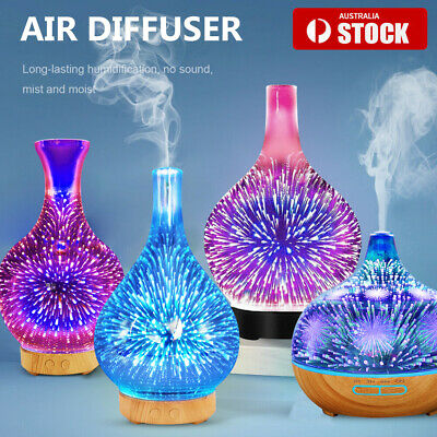 AU33.86 • Buy Devanti Aromatherapy Diffuser 3D Aroma Essential Oils Ultrasonic Air Humidifier