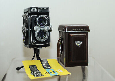 View Details Yashica MAT LM Medium Format Twin Lens Reflex Camera With Copal MXV Shutter  • 350.00£