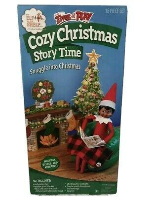 AU28.01 • Buy Elf On The Shelf Scout Elves At Play Cozy Christmas Story Time Accessories