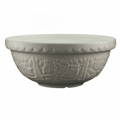Mason Cash In The Forest Patterned Design Mixing Bowl 26cm - Stone • 18.49£