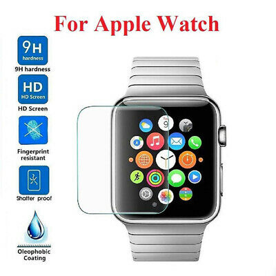 AU1.50 • Buy Slim 9H Tempered Glass Screen Protector For Apple Watch IWatch Series 1 2 3 4 5
