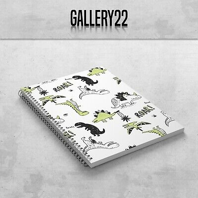 £7.99 • Buy Dinosaurs Roar! Notebook A5 Gift Stationery Notes Lists Writing Children Doddle