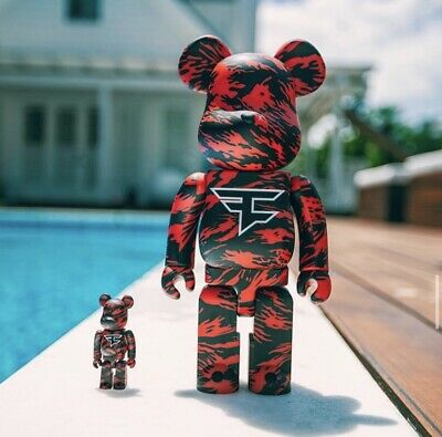 $325 • Buy Bearbrick X Faze Clan 100% And 400% Set CONFIRMED ORDER FREE SHIPPING