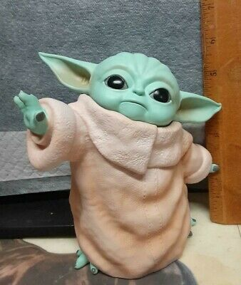 $20 • Buy Plastic Baby Yoda  The CHild  Figurine Good For Younger Kids NR Free Shipping