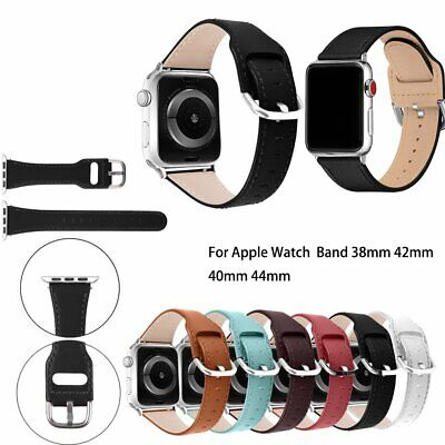 Retro Advanced Leather Band Belt Strap For Apple Watch Series 5 4 3 2 40 44mm • 10.99£