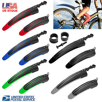 $10.99 • Buy 2x Bicycle Mudguard Mountain Bike Fenders Mudguards Wing Cycling Accessories USA