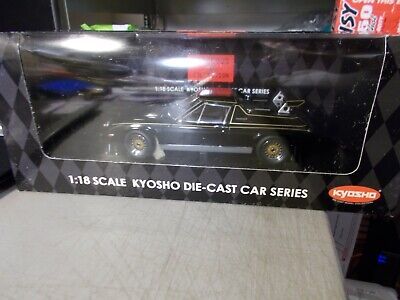 $ CDN240.28 • Buy Kyosho Gorgeous Collection Lotus Europa Special + Rear Wing Black 1:18 In Box