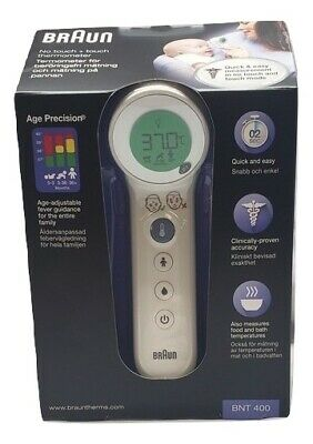 $ CDN174.51 • Buy BRAND NEW Braun BNT400 Touchless Forehead Thermometer For Home Use - White
