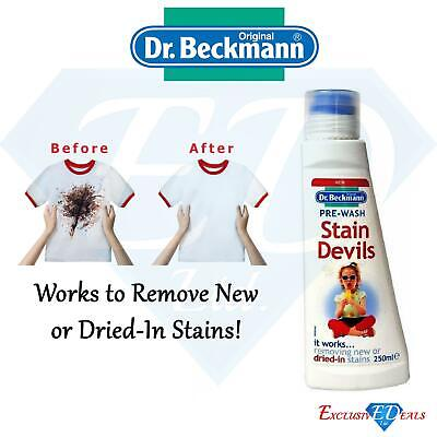 Dr Beckmann Pre-Wash Stain Devils - 250ml Very Effective Stain Remover  • 4.99£