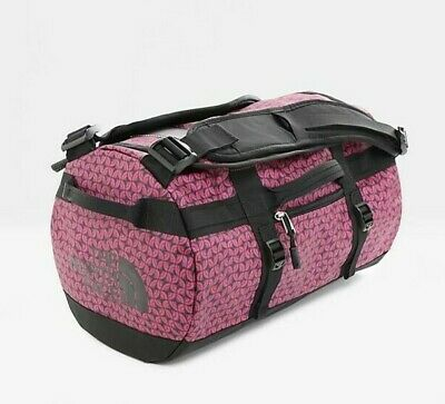 BNWT THE NORTH FACE TNF Base Camp Duffel Travel Bag XS Pink (31L) • 65£