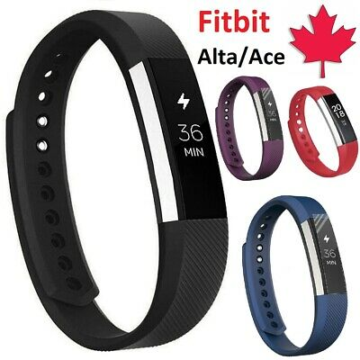 $ CDN5.95 • Buy For Fitbit Alta HR Ace - Replacement Silicone Wristband Band Strap Small Large