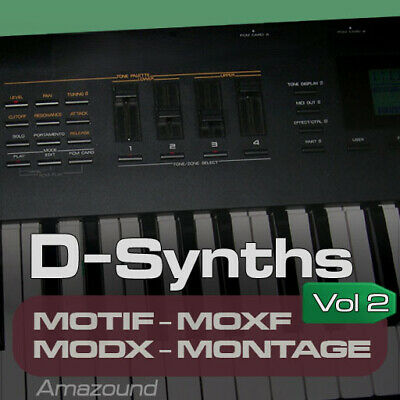 D70 SAMPLES For YAMAHA MOTIF ES XS XF MOXF MODX MONTAGE KEYMAPS READY TO PLAY • 16.58£