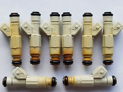 $100 • Buy 36lb Fuel Injectors Fit Chevy Ford Pontiac Bosch V8 LS1 LT1 5.0L 5.7L  Set Of 8