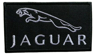 £1.89 • Buy Jaguar Logo Sports Car Racing- Iron On Embroidered Patch