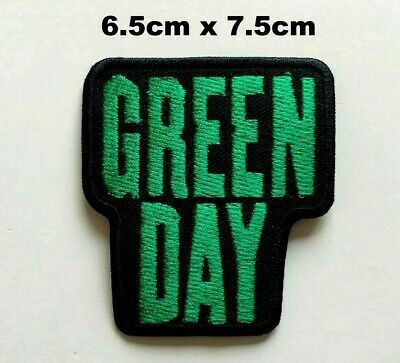 £1.89 • Buy Green Day Pop Punk Pop Rock Music Band Embroidered Iron On Sew On Patch New