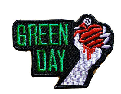 £1.99 • Buy Green Day Pop Punk Pop Rock Music Band Embroidered Iron On Sew On Patch New
