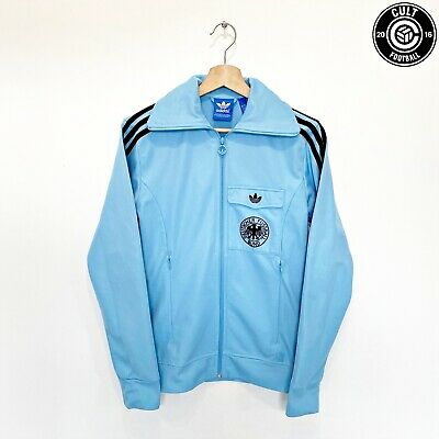 1974 WEST GERMANY Retro Adidas Originals Football Jacket Track Top (XS) • 59.99£