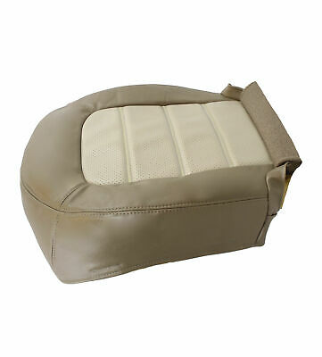 $107.91 • Buy 2002 To 2005 Ford Explorer Eddie Bauer Perforated Leather Seat Cover 2Tone Tan