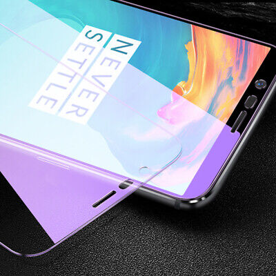 AU6.67 • Buy OnePlus 3 3T 5 5T 6 6T 7 7T 8T Nord 1+ Anti Blue Tempered Glass Screen Protector